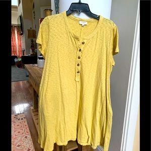 Umgee T-shirt style dress large